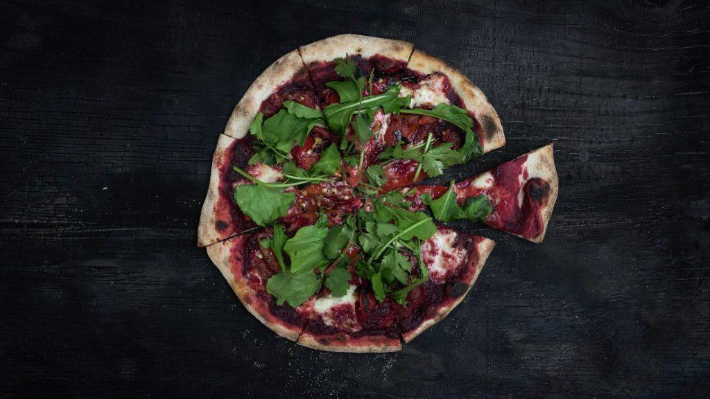 Das ist die traurigste vegane Pizza der Welt!