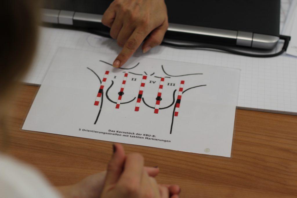 Fingerspitzengefühl: Wie blinde Frauen bei Brustuntersuchungen helfen können