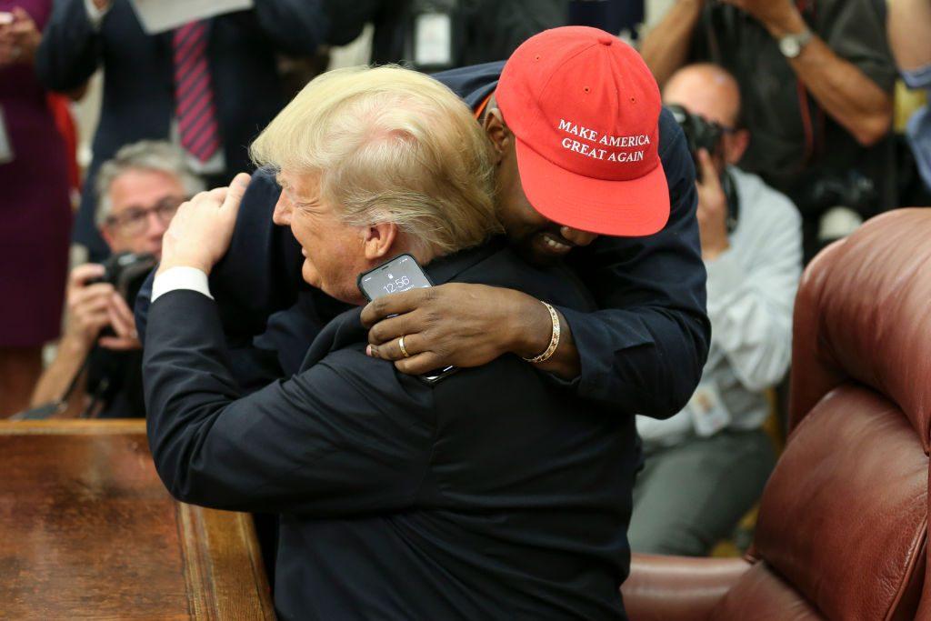 """Kanye West schräges Treffen mit Donald Trump: """"Ich liebe diesen Typen"""""""