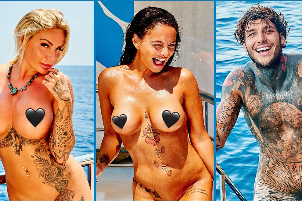 Adam sucht Eva: Die ersten Nackt-Fotos der Promis sind da