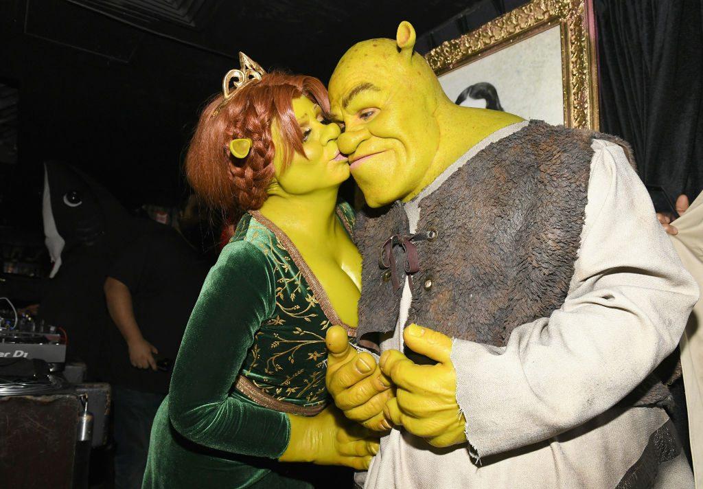 Heidi Klum und Tom Kaulitz: So verwandelten sie sich in Fiona und Shrek