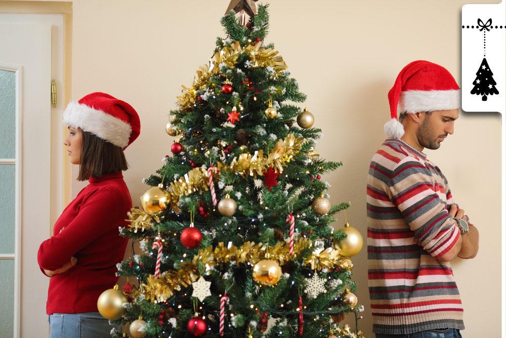 Darum streiten sich mehr als die Hälfte aller Paare an Weihnachten
