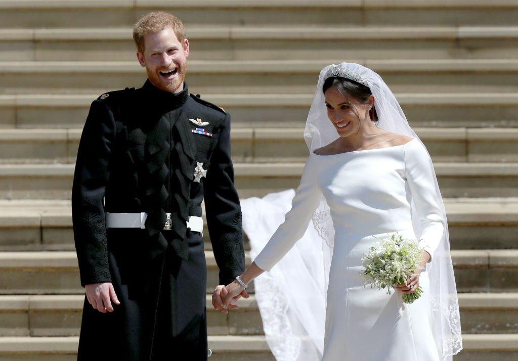 Meghan & Harry veröffentlichen wunderschönes unbekanntes Foto ihrer Hochzeit