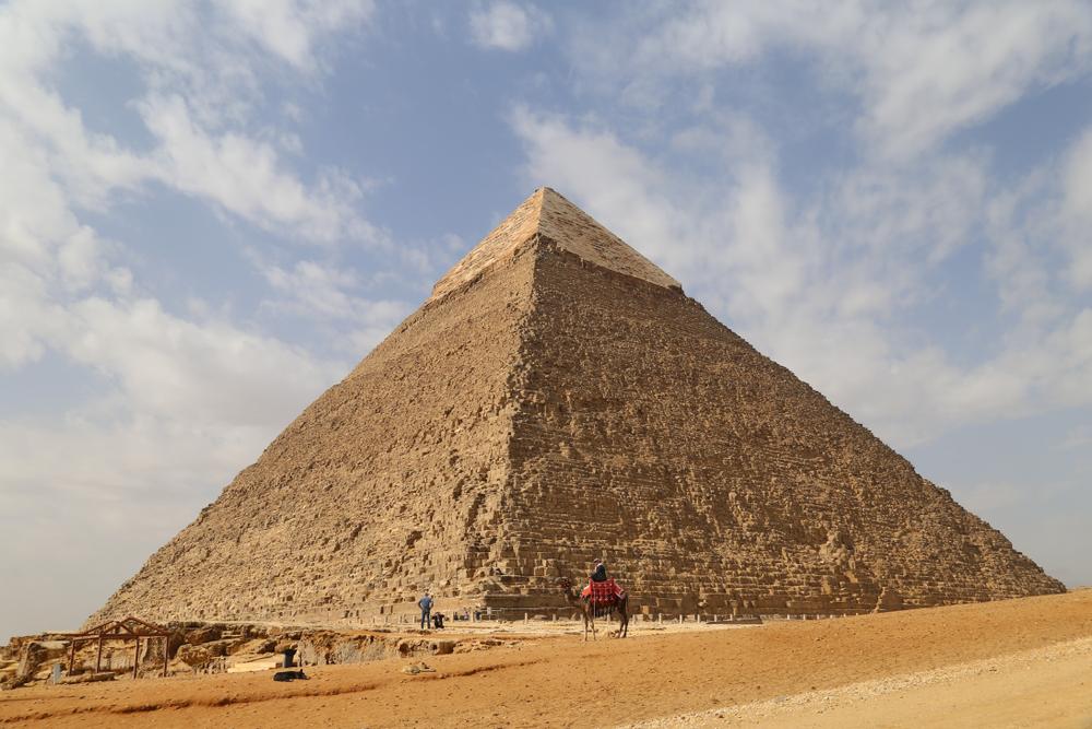 Ägypten: Nacktes Paar auf Cheopspyramide sorgt für Aufregung