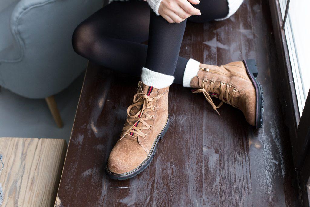 Das neue Trend-Piece für den Winter: Hiking Boots