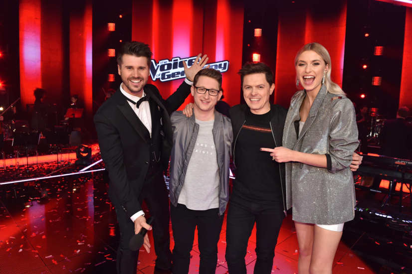 Voice of Germany Gewinner: Samuel Rösch aus Team Michael Patrick Kelly