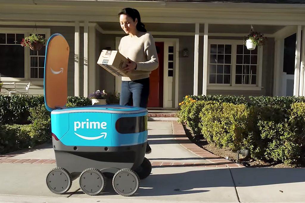 Amazon Scout: Der Roboter bringt deine Pakete