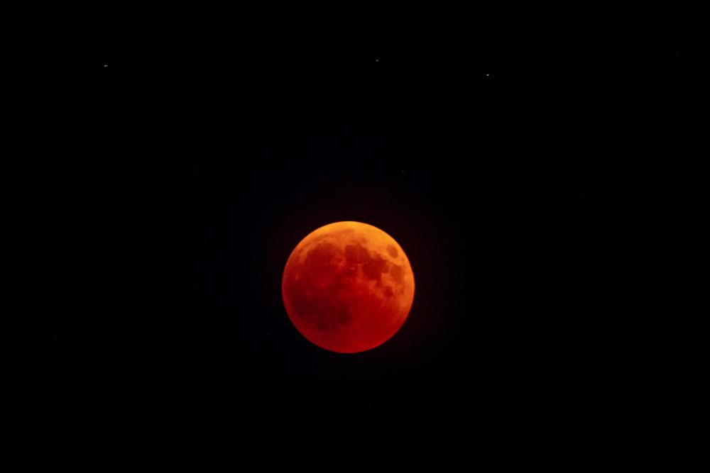 Mondfinsternis: Am Montag könnt ihr den Blutmond beobachten