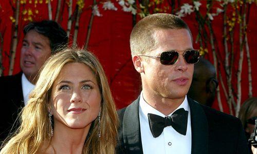 Brad Pitt bei Geburtstagsfeier von Jennifer Aniston