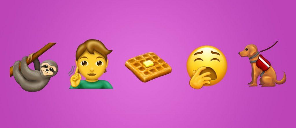 Diese 230 neuen Emojis kommen 2019