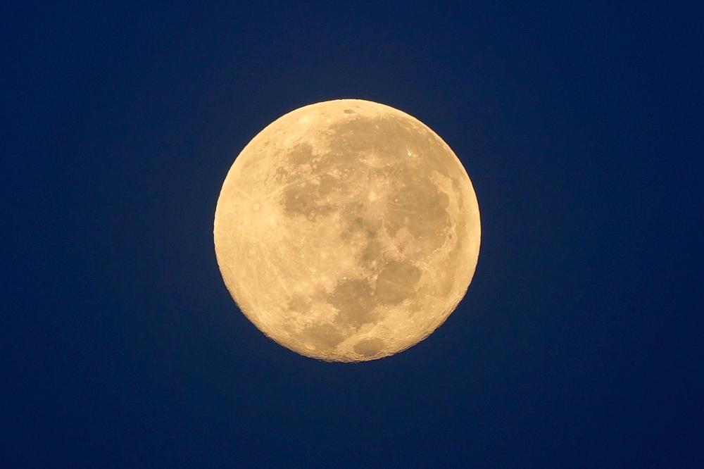 Riesiger Super-Wolfsmond erstrahlt heute Nacht den Himmel