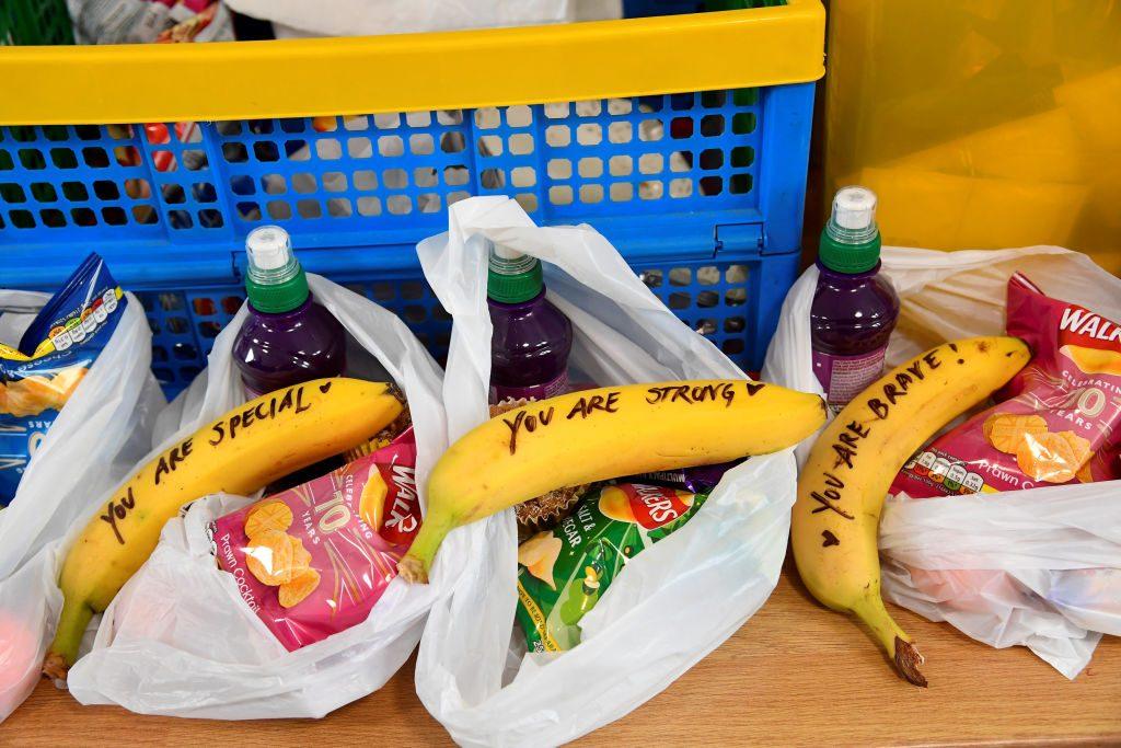 Meghan Markle schreibt Botschaften auf Bananen für Sexarbeiterinnen