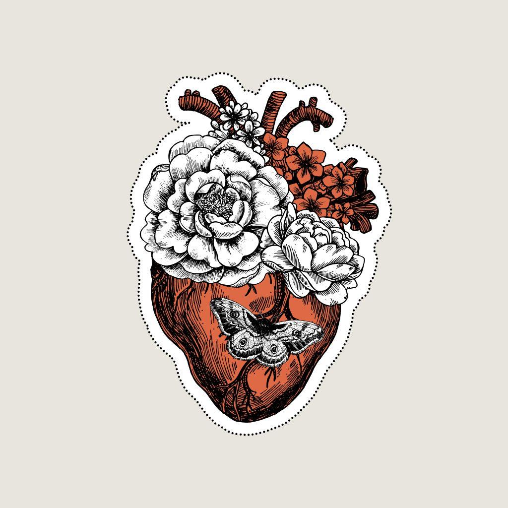 Rote Tattoos: Die schönsten Motive auf Pinterest