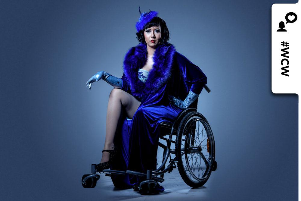 Jacqueline Boxx tanzt Burlesque im Rollstuhl: Sexualität kennt keine Grenzen