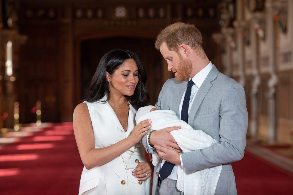 """Meghan und Harry zeigen zum ersten Mal """"Baby Sussex"""""""