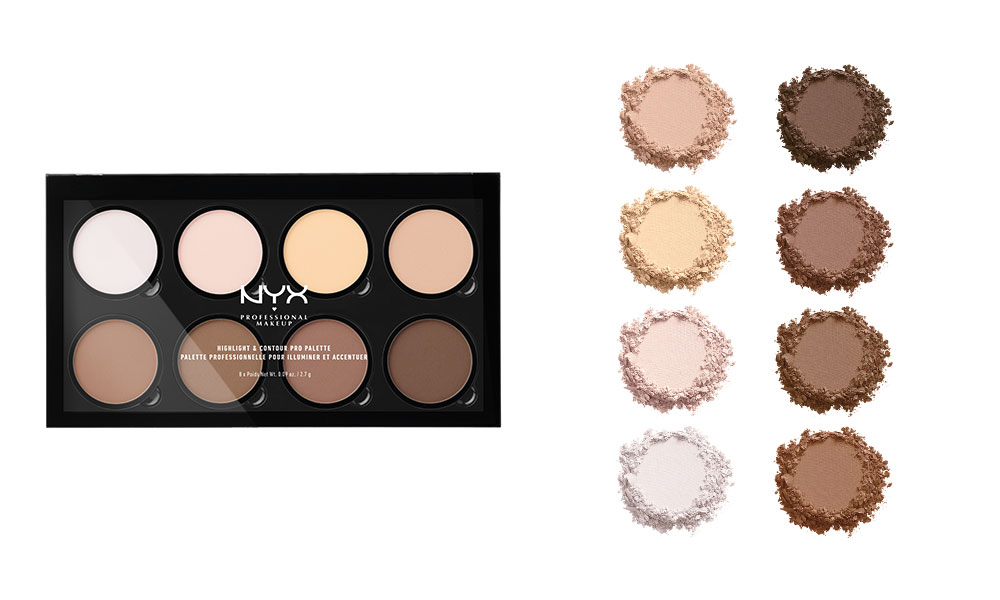 Highlight & Contour Pro Palette von NYX Professional Makeup