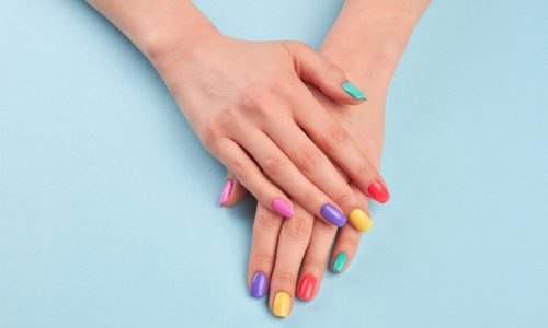 Nageltrend Sommer 2019: Rainbow Nails