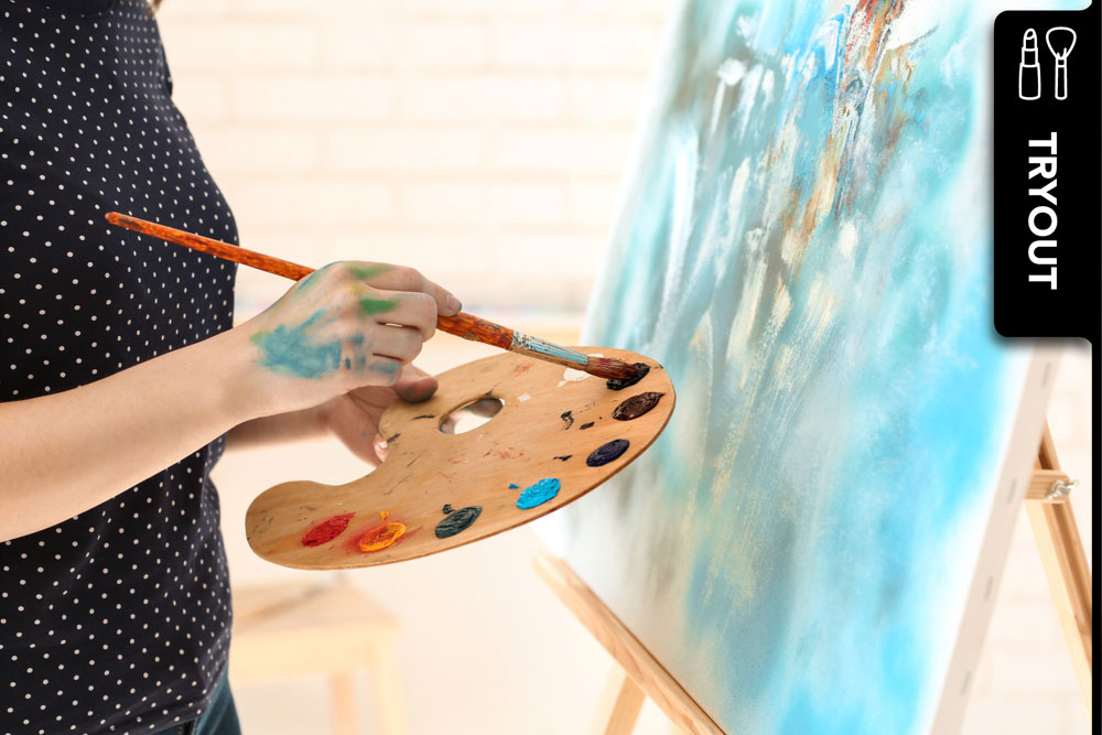 Art Night: Entspannen und nebenbei malen lernen