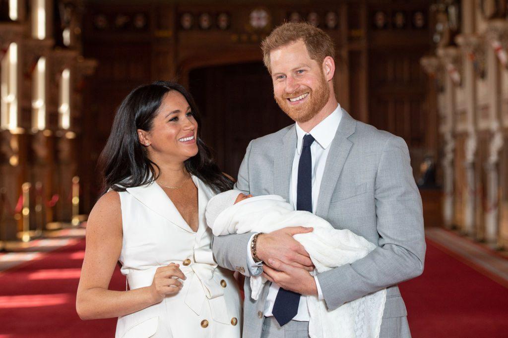 Meghan zeigt Baby Archie in zuckersüßem Insta-Post