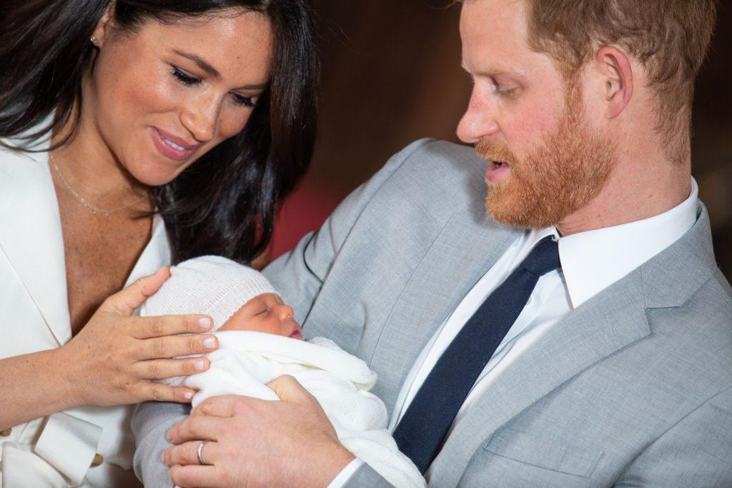 Meghan und Harry: Baby Archie wird noch diese Woche getauft