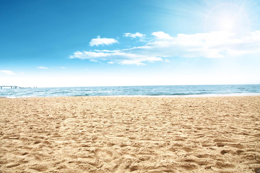 Strand oder Autotür: Was siehst du auf diesem Foto?