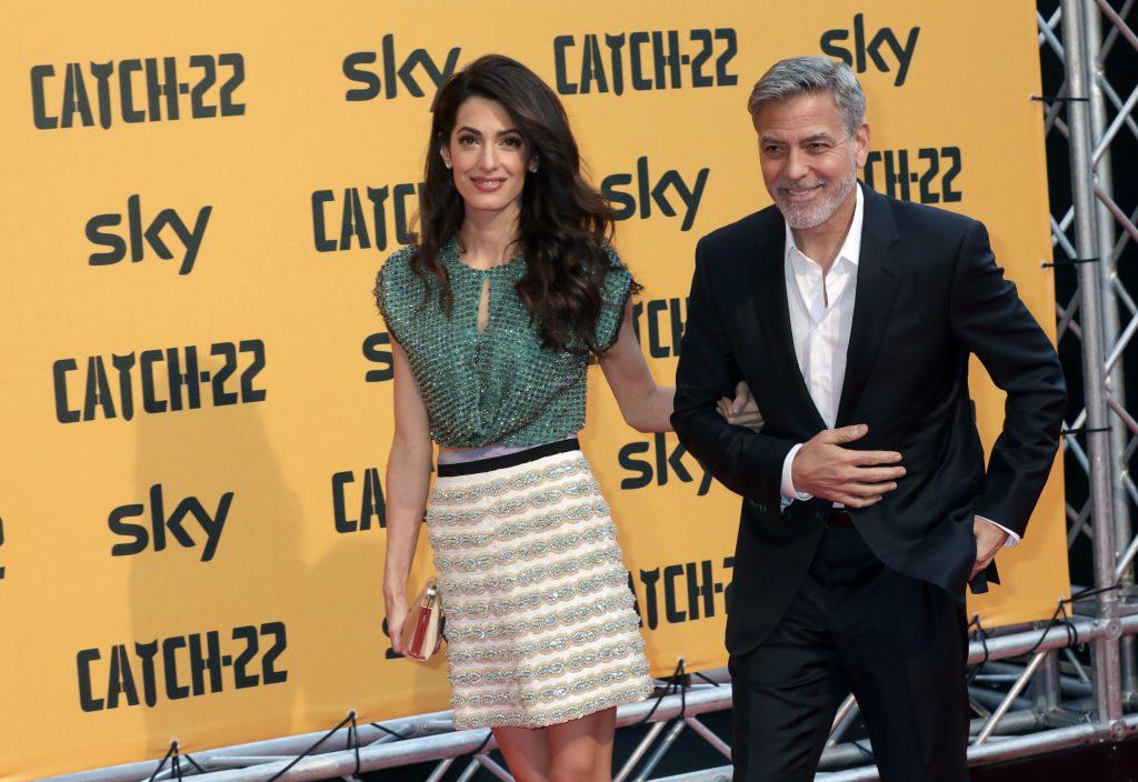 George und Amal Clooney: Streiten sie sich wirklich ums Geld?