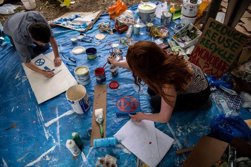 Klima-Camps: Hier werden Demonstranten ausgebildet