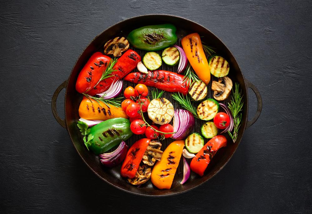 4 einfache vegetarische Grill-Rezepte