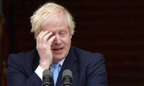 Brexit: Eine Zusammenfassung in Bildern von Premierminister Boris Johnson