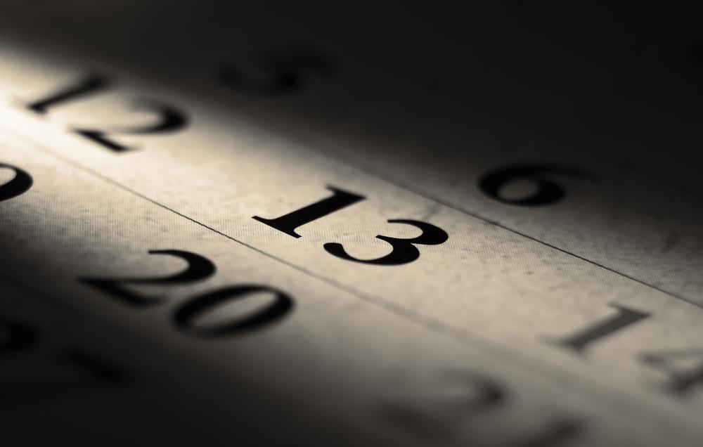Deshalb soll Freitag der 13. Unglück bringen
