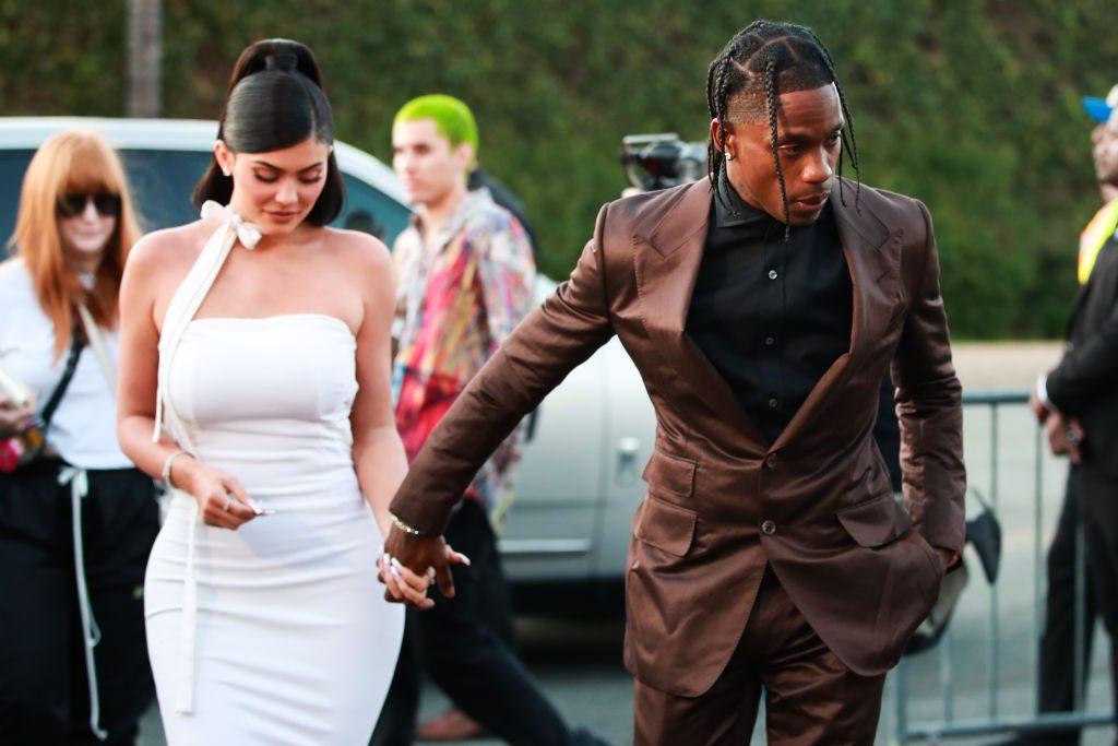 Kylie Jenner und Travis Scott nackt im Playboy