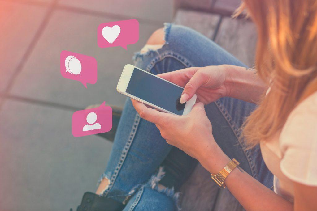 Influencerin verkauft ihre Freundschaft auf Instagram