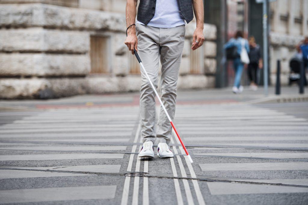 Österreichisches Start-Up entwickelt Schuh für Blinde