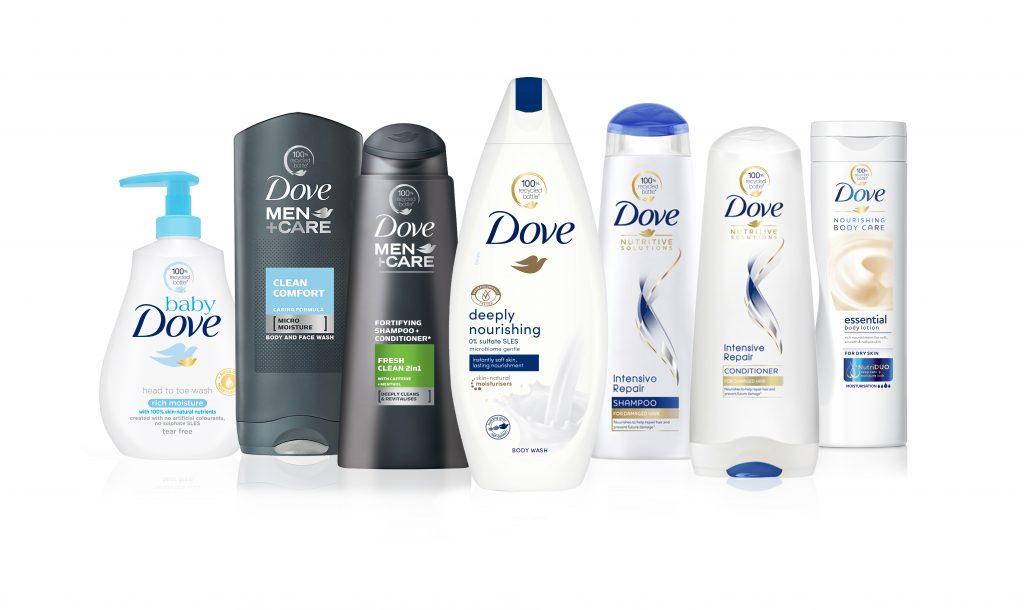"""Alle Produkte von """"Dove"""" werden weltweit plastikfrei"""
