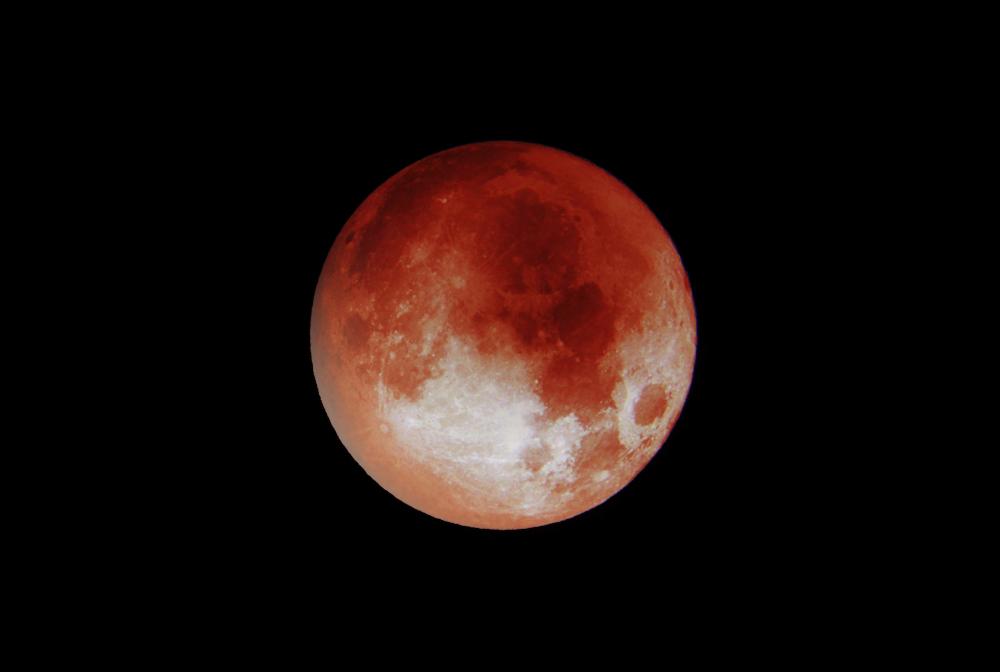 Vollmond im Oktober: Heute ist der Blutmond zu sehen