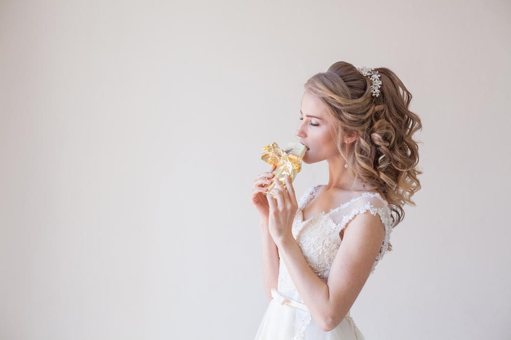 Deshalb isst diese Braut ihren eigenen Brautstrauß