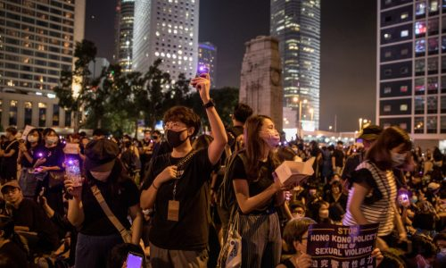 Hongkong: Demonstranten tricksen Behörden mit iPhones aus