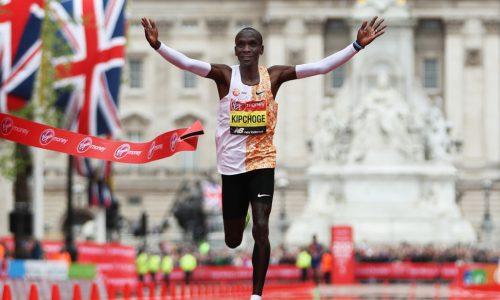 Kipchoge läuft Marathon unter zwei Stunden: Weltrekord in Wien