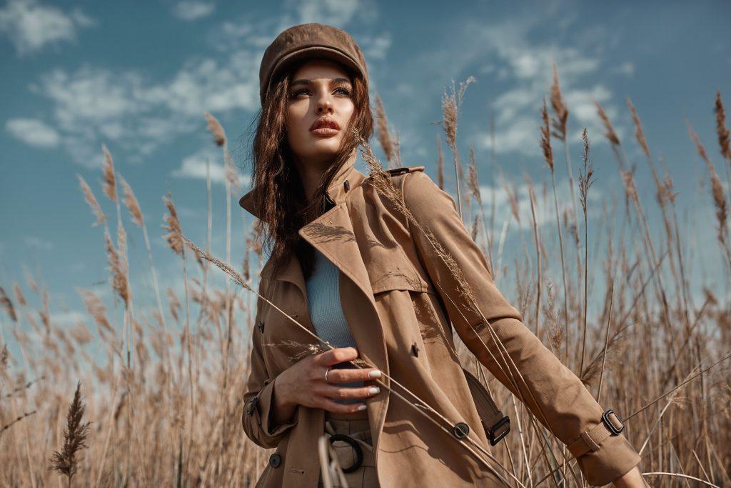 Mit diesem Mantel bist du im Herbst voll im Trend