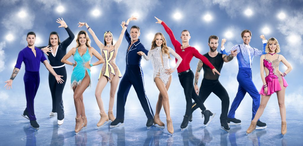"""Nadine Klein: Teilnahme bei  """"Dancing on Ice"""""""