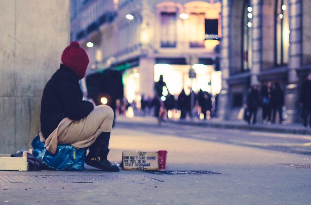 Obdachlos: Wien führt eine Kälte-App ein