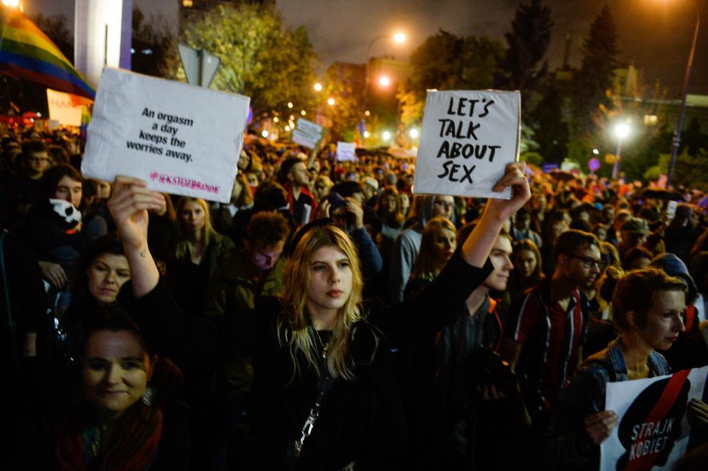 Strafe für Sexualkunde: Wieso in Polen demonstriert wurde