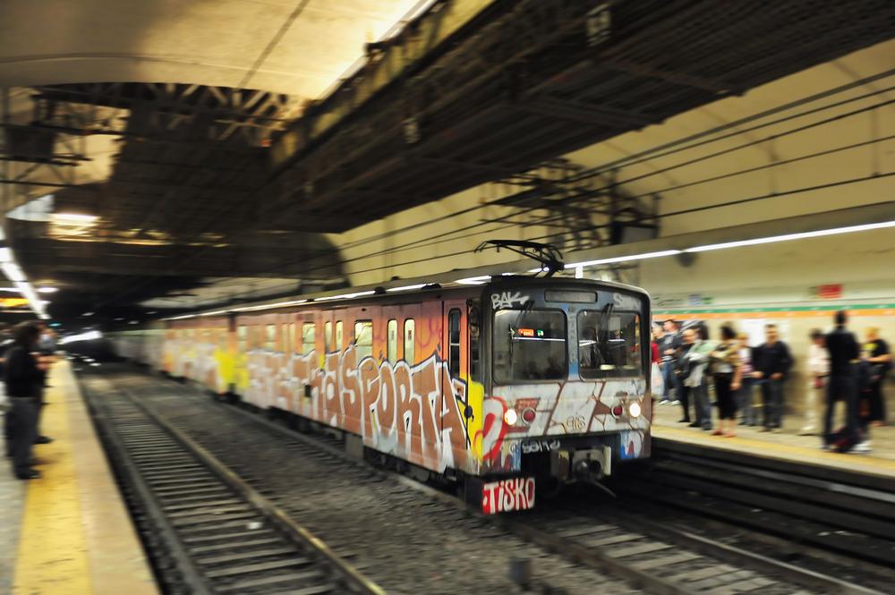 U-Bahn in Rom: Plastikflaschen als Zahlungsmittel
