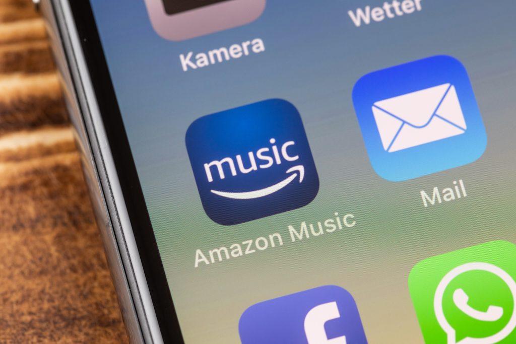 Amazon: Musik für Android und iOS kostenlos nutzbar