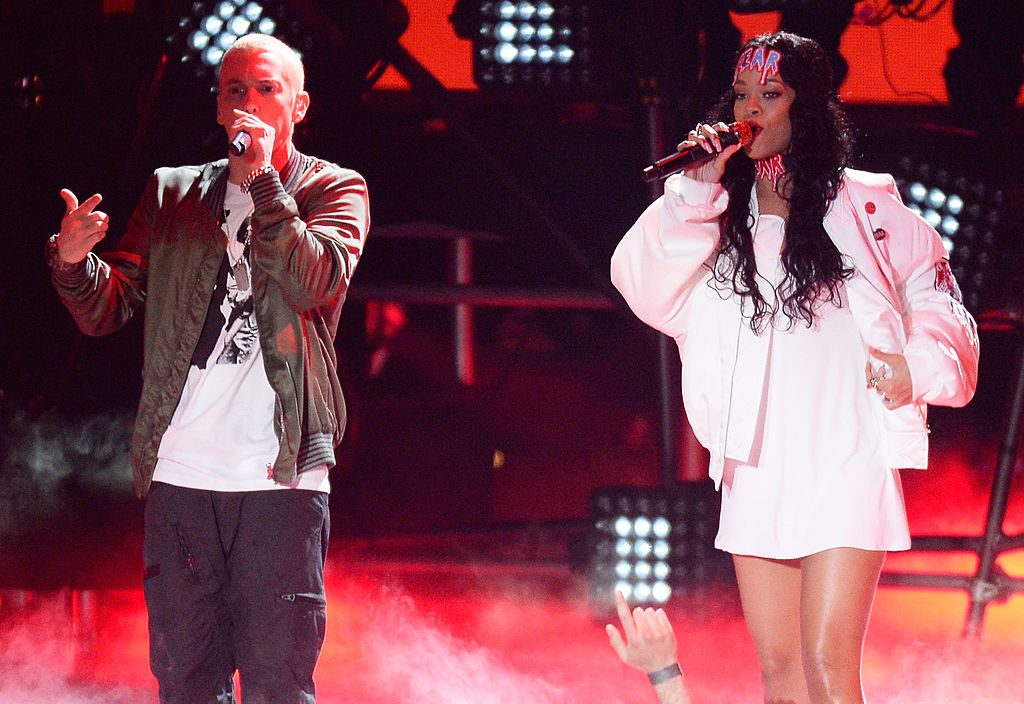 Eminem-Song geleakt: Unterstütze er Chris Brown nach Rihanna-Attacke?