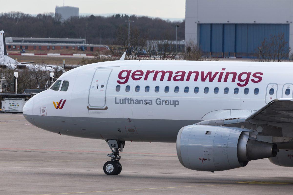 Germanwings Flugbegleiter streiken über Silvester