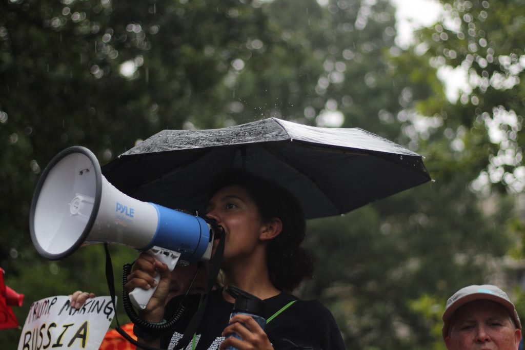 Chile: Frauen protestieren für ihre Rechte