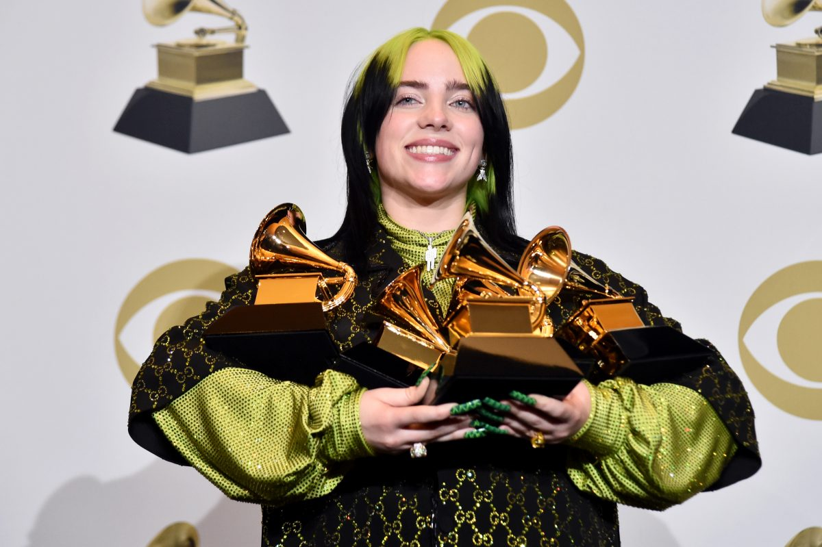 Billie Eilish gewinnt Grammys in allen vier Hauptkategorien