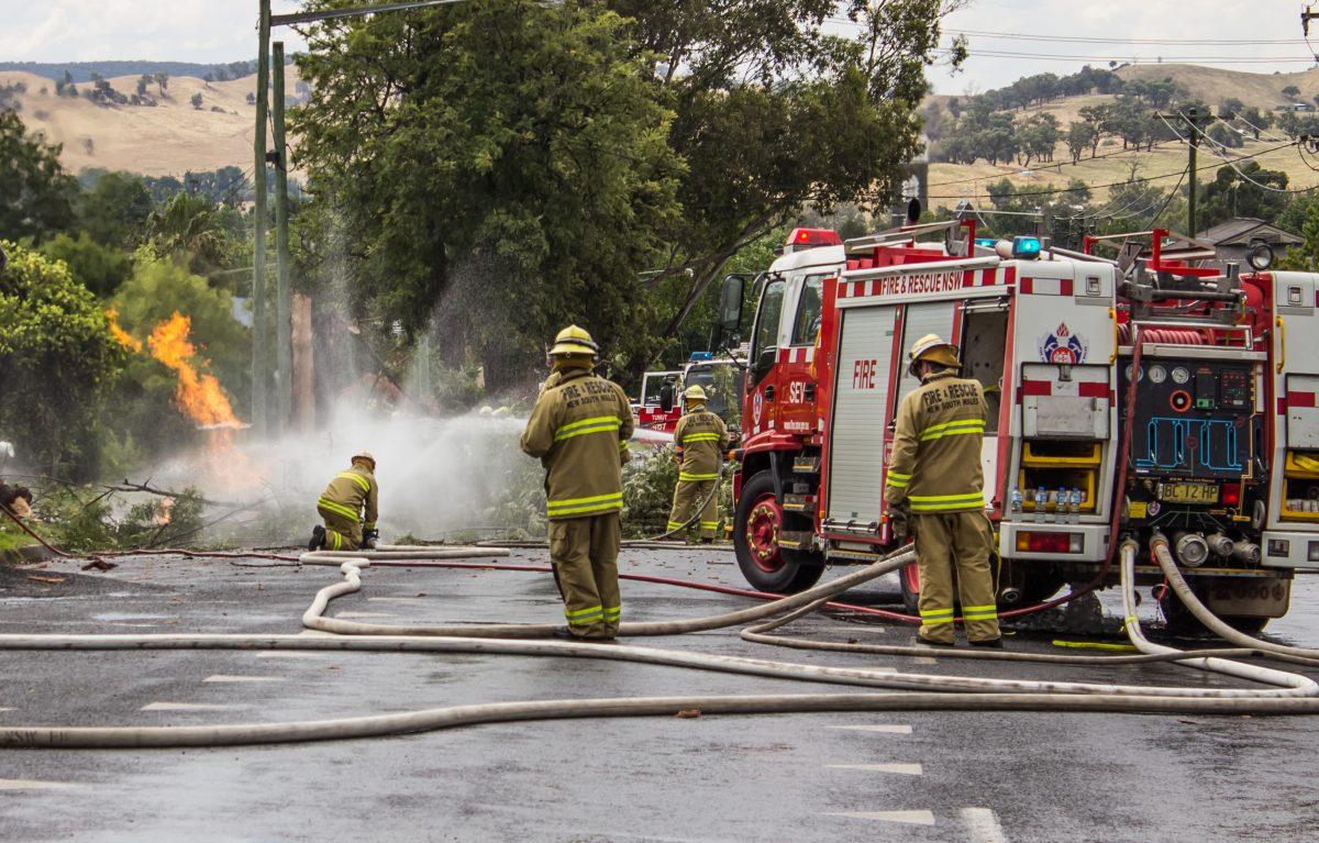 Brände in Australien: Tapferkeitsmedaille für Sohn von totem Feuerwehrmann