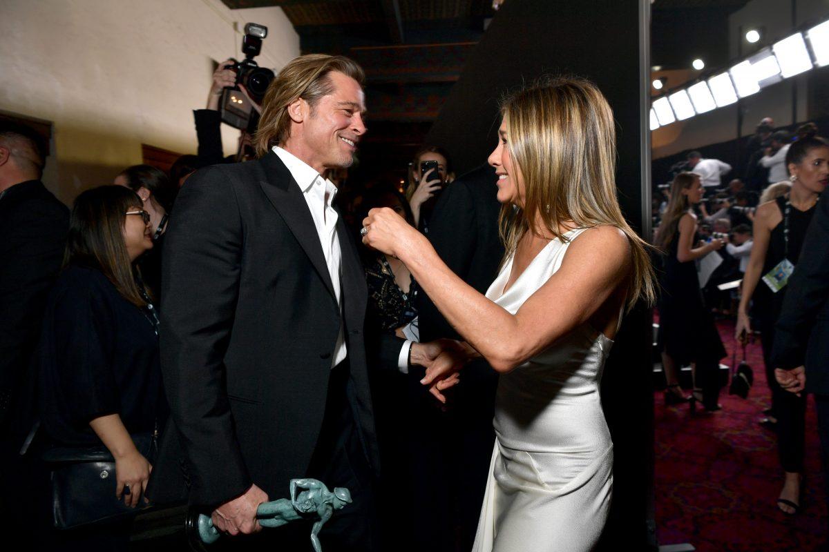 Jennifer Aniston & Brad Pitt gemeinsam bei SAG Awards